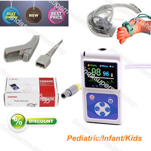 Neonatal Kids Born Pulse Oximeter Spo2 Monitor Infant Pediatric Monitor Ce Fda
