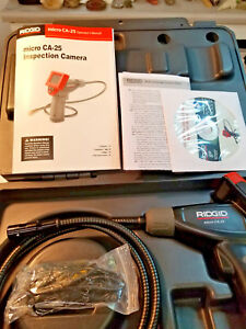 Ridgid Micro Ca 25 Cat No 40043 Hand Held Inspection Camera New In Case