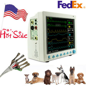 Contec Cms8000vet Veterinary Patient Monitor 6 Parameter Vital Signs Icu Monitor