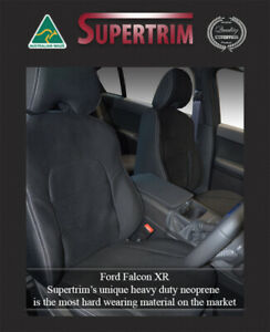 Seat Cover Ford Falcon Au Xr 6 Xr 8 Front Full back Pocket Waterproof Premium