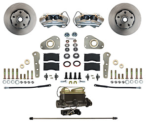 Ford Galaxie Front Disc Brake Conversion Kit For Factory Power Brake Cars