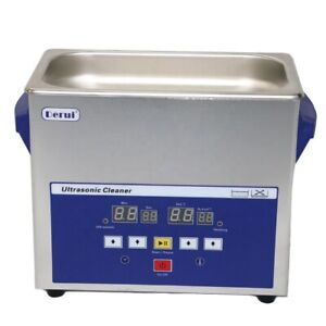 Ultrasonic Industry Parts Pcb Cleaner Dr lq30 Led Window Show Touch Control 3l