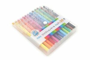 Pilot Frixion Color Erasable Gel Ink Pen 0 7 Mm 24 Color Set Lfp 312fn 24c