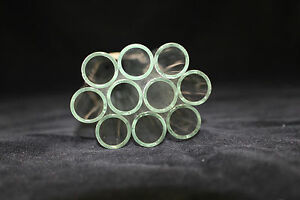 Glass Tubing 10 Pieces Borosilicate Pyrex Blowing Tubes 18mm X1 8mmx290mm