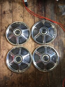 65 Ford Mustang Hubcaps 14
