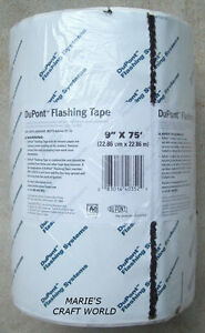 2 Rolls Dupont 9 Flashing Tape Doors Windows Insulation Pipe Roof Vent Wrap