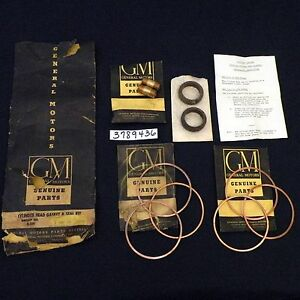 Nos 60 61 Chevy Corvair Cylinder Head Gasket Kit Gm 3789436