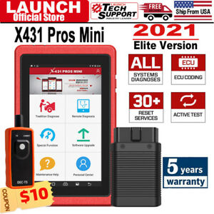 Launch X431 Pros Mini Scanpad Obd2 Eobd Diagnostic Scanner Tablet Global As V V