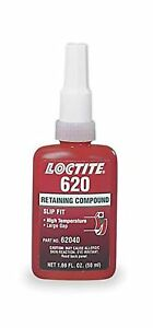 Loctite 620 442 62040 50ml Retaining Compound High Temperature Green Color