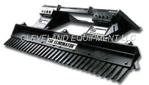 72 Loegering Eliminator Landscape Rake Attachment Skid Steer Loader Bobcat 6