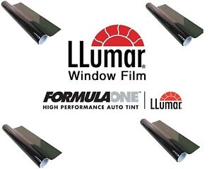 Llumar Formulaone Pinnacle Series Nano Ceramic 15 Vlt 40 X 20 Ft Tint Roll