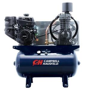 Campbell Hausfeld Kohler Gas Powered 15hp 30 Gallon 2stage Compressor New Tf2136