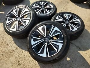 17 Honda Civic Ex L 2017 Oem Factory Wheels Rims Tires 2015 2016 Accord Cr Z