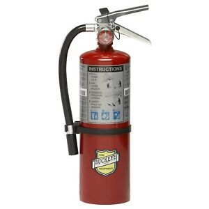 Buckeye 10914 Abc Multipurpose Dry Chemical Fire Extinguisher Wall Hook