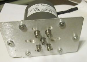 Agilent 7104c Dc To 26 5 Ghz Sp4t Coaxial Switch With Mount