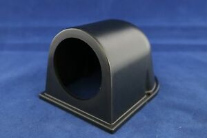 Single Gauge Meter Pod Holder Bracket 2 Or 52mm Flat Black Housing