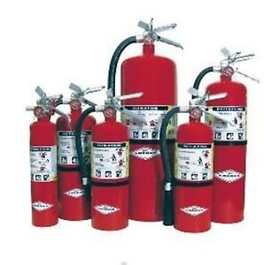 Amerex 3 Pack B500 5lb Abc Dry Chemical Class A B C Fire Extinguisher