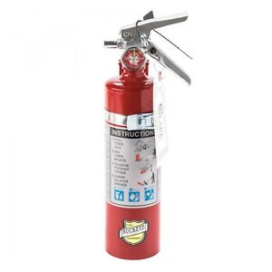Buckeye 13315 Abc Multipurpose Dry Chemical Hand Held Fire Extinguisher With