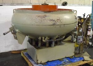 Almco or 23vff 23cu ft Vibratory Finisher