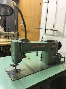Used Industrial Green Consew Sewing Machine Model 210