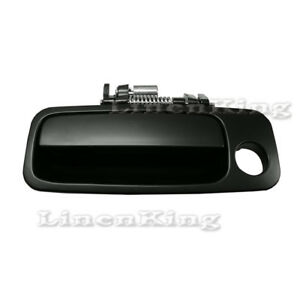 Fits 97 01 Toyota Camry Outside Door Handle Black Non Painted Front Left Dhe102