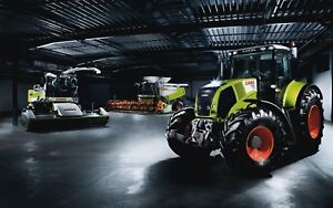 Claas Dominator 68 38 Combine Service And Repair Manual