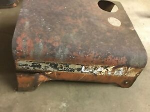 Case 530 Tractor Original Hood Assembly Engine Cover Top Panel Mid 1960s