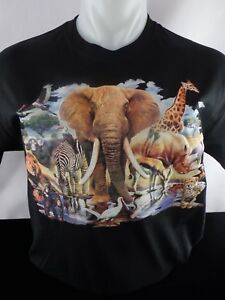 3d African Safari New Heat Press Transfer Design T shirt Sweatshirt Bag Tote