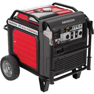 Honda Eu7000is 5500 Watt Electric Start Portable Inverter Generator