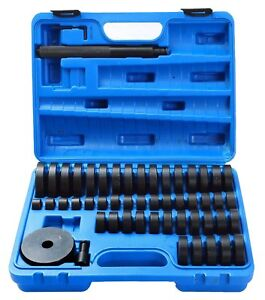 52 Pcs Custom Bushing Bearing Seal Driver Set Tool 18mm 65mm Us Free Ship