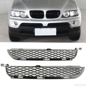 For Bmw X5 E53 03 06 Lci Front Grille Upper Bumper Mesh Grill Left