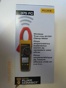 Fluke 375 Fc Wireless True Rms Ac dc Clamp Meter New