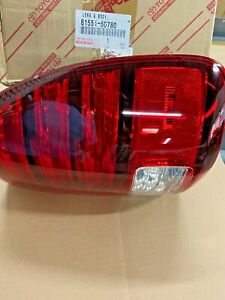 2005 2007 Lx470 Oem Lexus 8155160780 Tail Lamp Assy Passengr Side 81551 60780