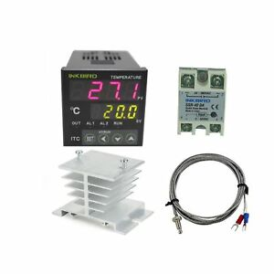 100 220v Itc 100vh Outlet Digital Pid Thermostat Temperature Controller