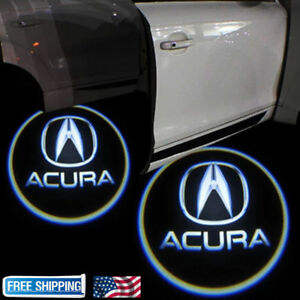 2xled Laser Door Logo Ghost Shadow Projector Lights For Acura Tlx Rlx Mdx Tl Zdx