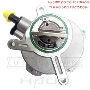 Brake Vacuum Pump For Bmw E60 550i 650i X5 E53 E65 E66 750i 760li 645ci 745i