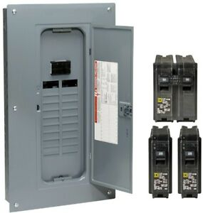 Circuit Breaker Main Load Center Indoor Convertible Electric Home Fuse Box Amp