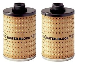 2 Goldenrod 496 5 Fuel Filters 3 X 4 15 16 New