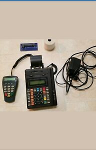 Hypercom T7p t Credit Card Terminal Processing Machine With Pin Pad