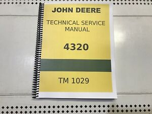 4320 John Deere Technical Service Shop Repair Manual
