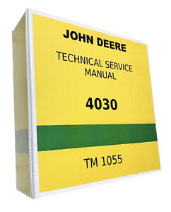 4030 John Deere Technical Service Shop Repair Manual