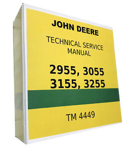 2955 John Deere Technical Service Shop Repair Manual