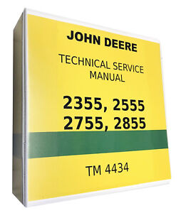 2355 John Deere Technical Service Shop Repair Manual