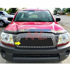 Aal For 2005 2007 2008 2009 2010 Toyota Tacoma Steel Black Mesh Grille Insert