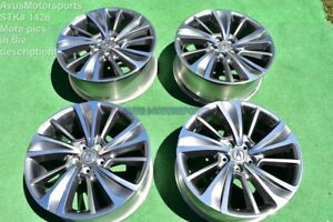 20 Acura Mdx Oem Factory Wheels Tl Honda Pilot Ridgeline 2017 New Take Off Tpms