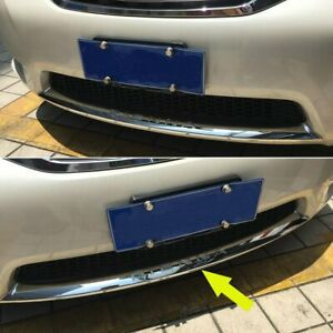For Toyota Sienna 2013 2017 Chrome Front Bumper Guard Protector Plate Cover Trim
