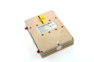 Microsource Mts 2000 609 01x Frequency Synthesizer 4350 5550mhz