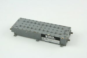 Delta Microwave Bandpass Filter 627342 1