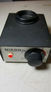 Nikon Solid State Transformer Model 6 20 2 8 Vac Used