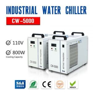 110v Cw 5000 Water Chiller For 3w 5w Ultraviolet Laser Laboratory Instruments